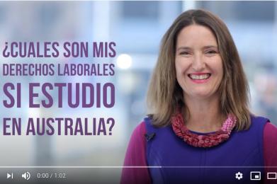 ¿Cuales son mis derechos laborales si estudio en Australia